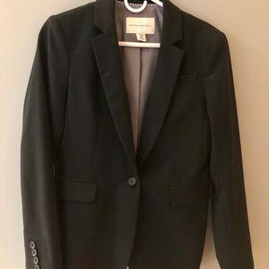 Banana Republic black blazer. Petite size 8.